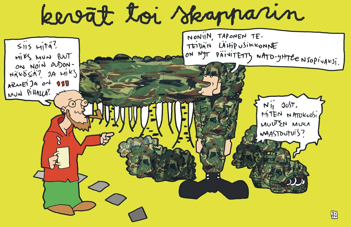 Nato militarisoi Skandinaviaa