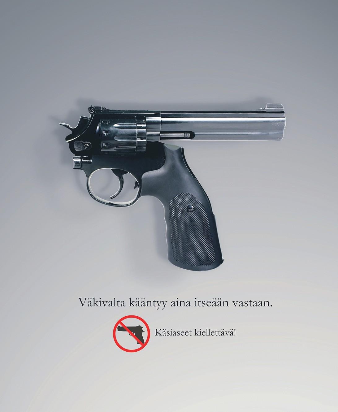 Turvallisen aseen omistajaa ei ole