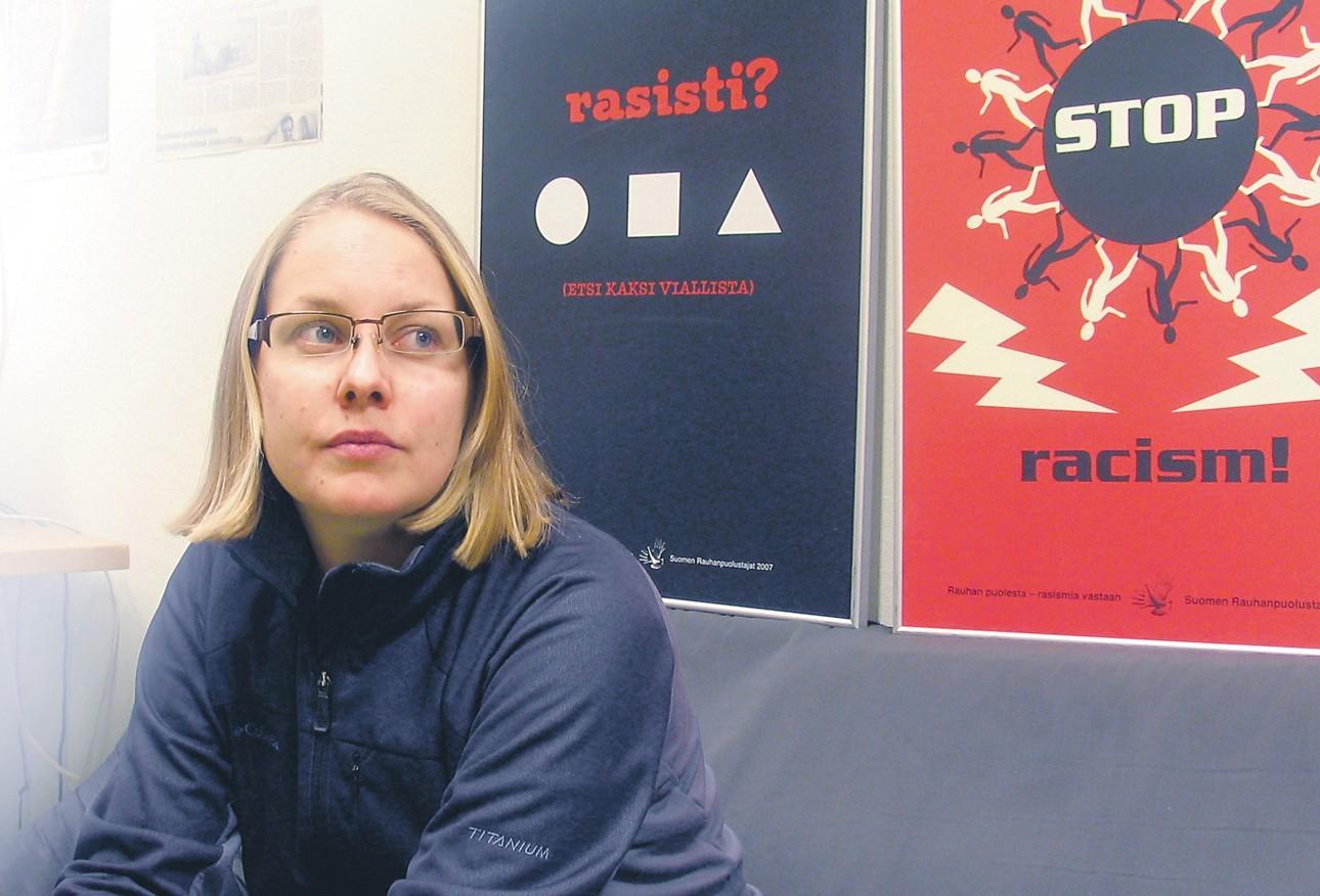 Rauhantekijä Katja Tuominen: Rajojen rikkoja