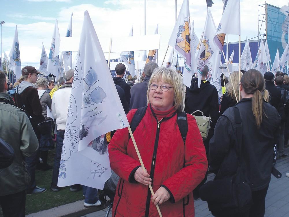 Rauhantekijä Marjaliisa Siira