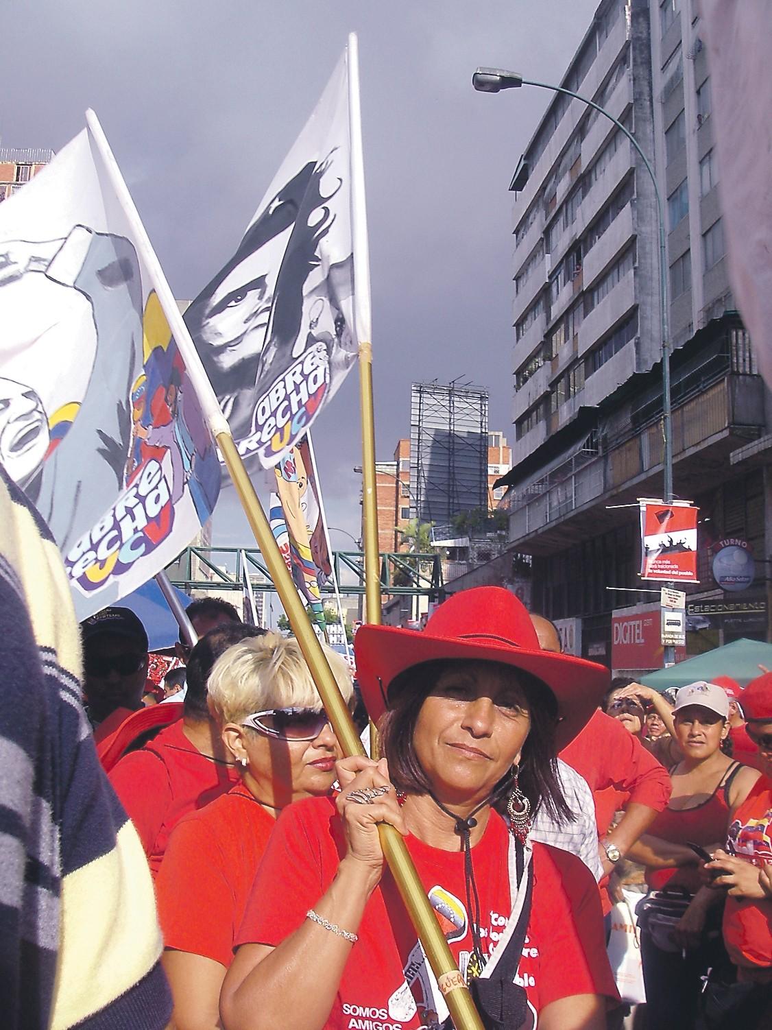 Rauhan ääniä Caracasissa