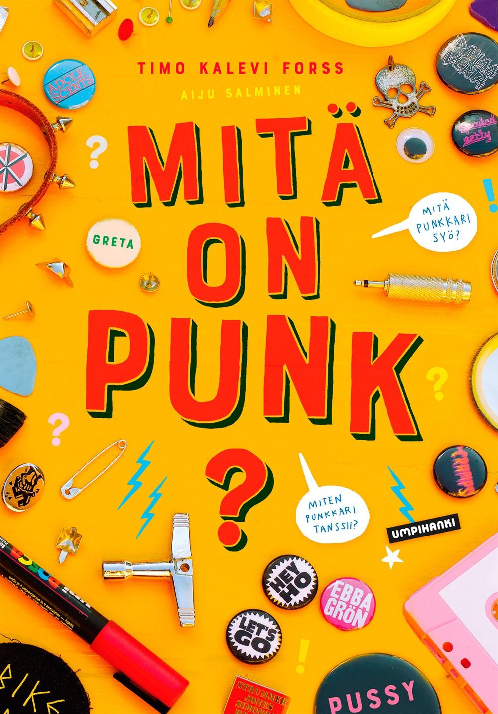 Mitä on punk? Siitä ilmestyi nyt tietokirja lapsille