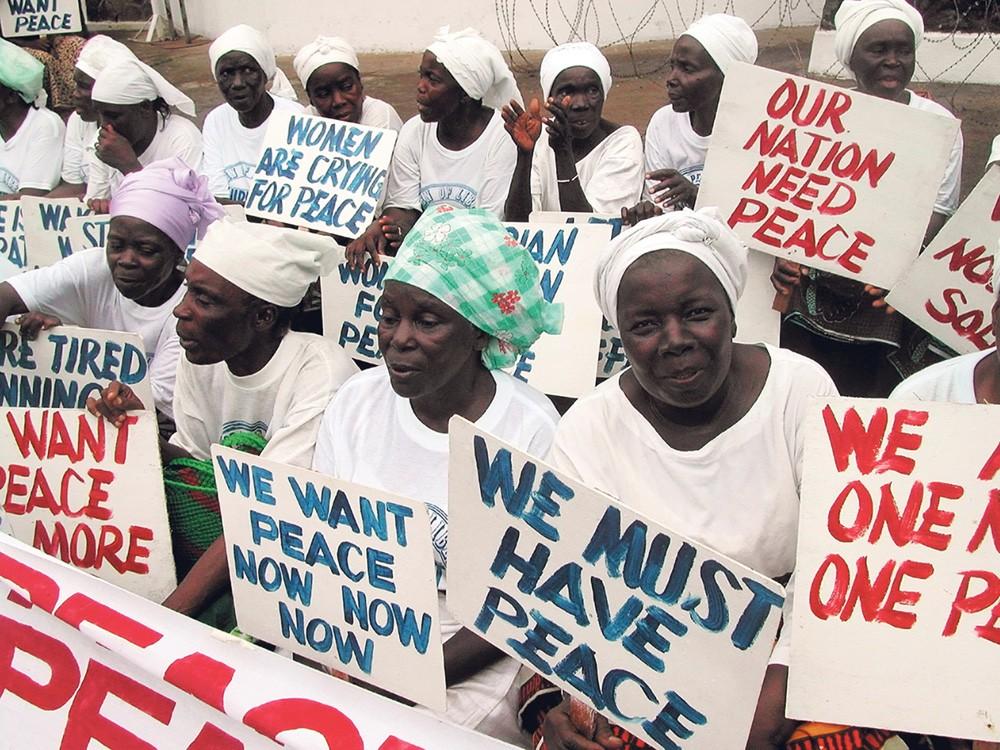Kertomuksia rohkeudesta 19: Liberian naisten rauhankampanja 2003