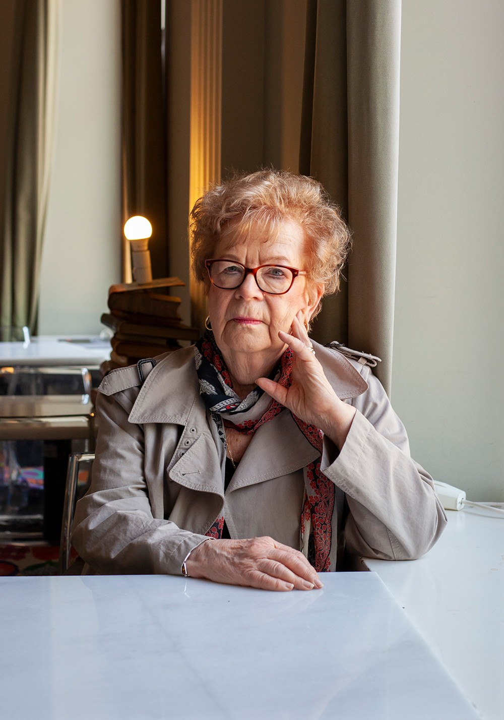 Marja-Leena Mikkola yhdisti rauhantyön ja kulttuurin
