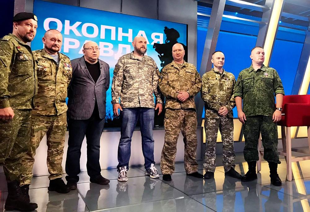 Rauhantunnusteluja ruohonjuuritasolla Itä-Ukrainassa